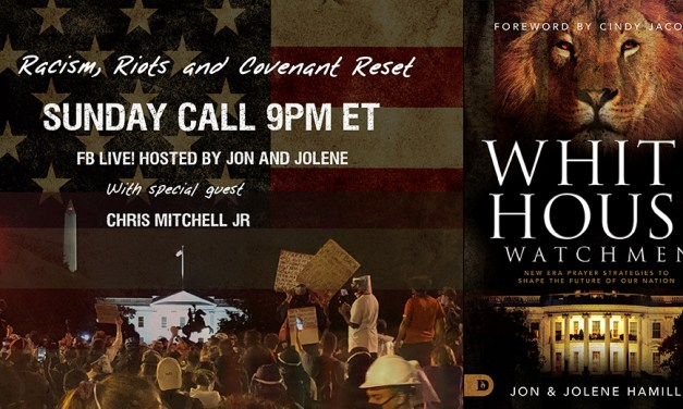 FB LIVE SUNDAY! Racism, Riots and Covenant Reset—with Chris Mitchell Jr