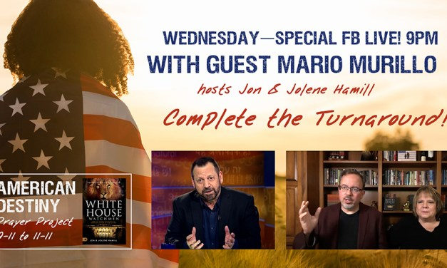 MARIO MURILLO TONIGHT! 9PM ET Facebook, Conference Call