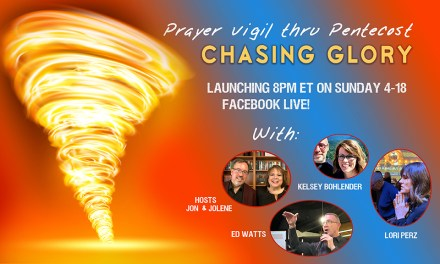 "8PM TONIGHT! FB LIVE—""CHASING GLORY"" with Ed Watts, Kelsey Bohlender, Lori Perz!"