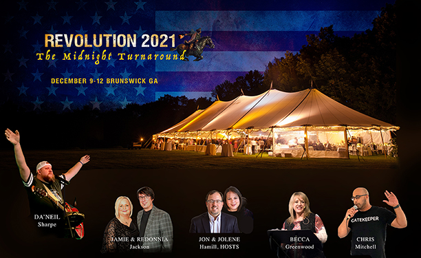 ANNOUNCING REVOLUTION 2021! Call Tonight with Jamie Jackson, Chris Mitchell