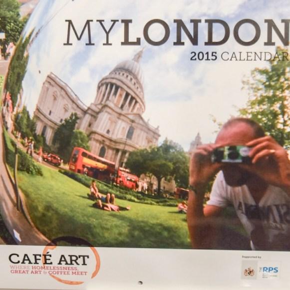 Cafe Art Calender
