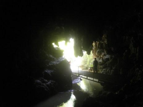 Caverna do Parque Municipal Gruta da Bacaetava. Colombo -PR