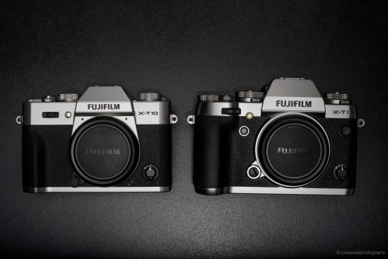 Compared to X-T1