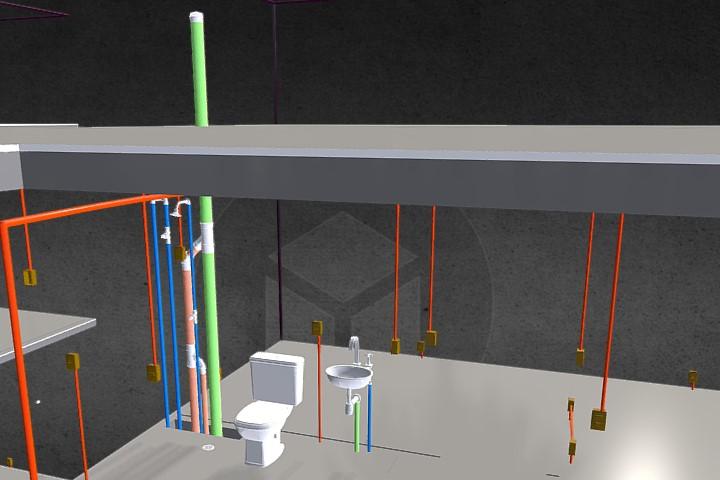 Modelagem BIM de um edifício