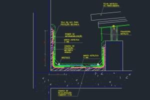 Read more about the article Projeto de impermeabilização: Detalhes em DWG