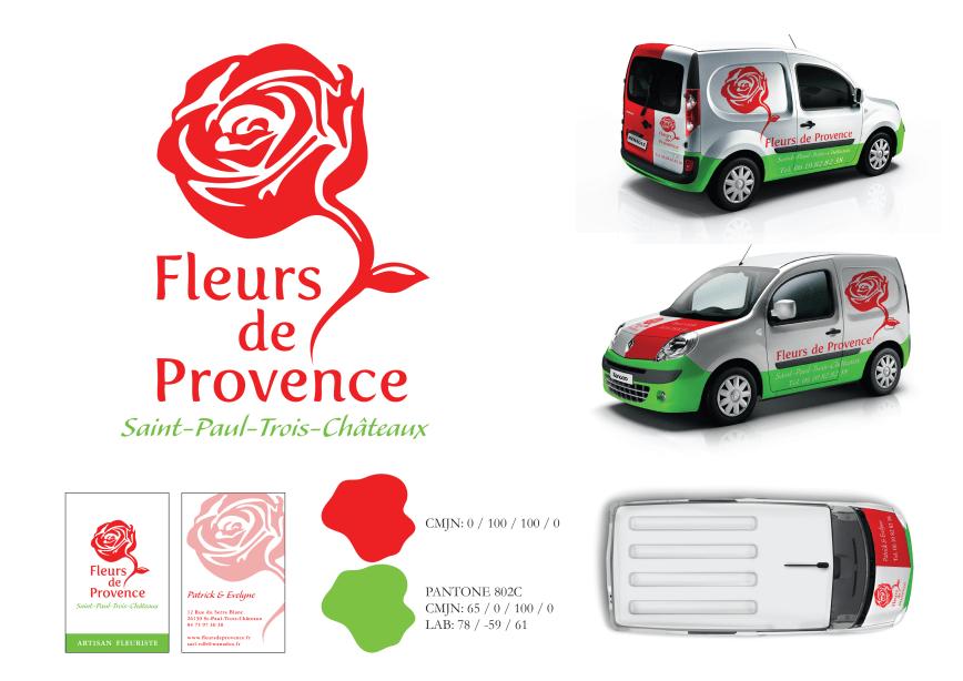 Déclinaison Fleurs de Provence