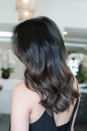 dark brunette highlights 2013