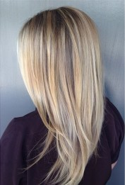 beachy blonde highlights
