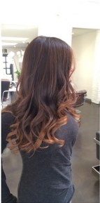 brunette highlights 2014