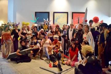 Final fantasy group photo