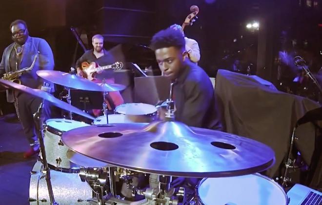 "Jonathan Barber ""Vision Ahead"" Drum Solo"