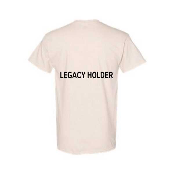 Legacy Holder T-Shirt Back