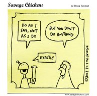 Savage Chicken: Do what I say
