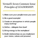 Vermeil's Principles