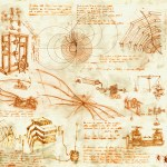 Bridging the Renaissance Period and Digital Era with Leonardo da Vinci
