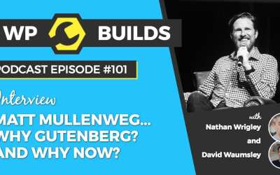 It's just software! WP Builds chats to Matt Mullenweg about Gutenberg.