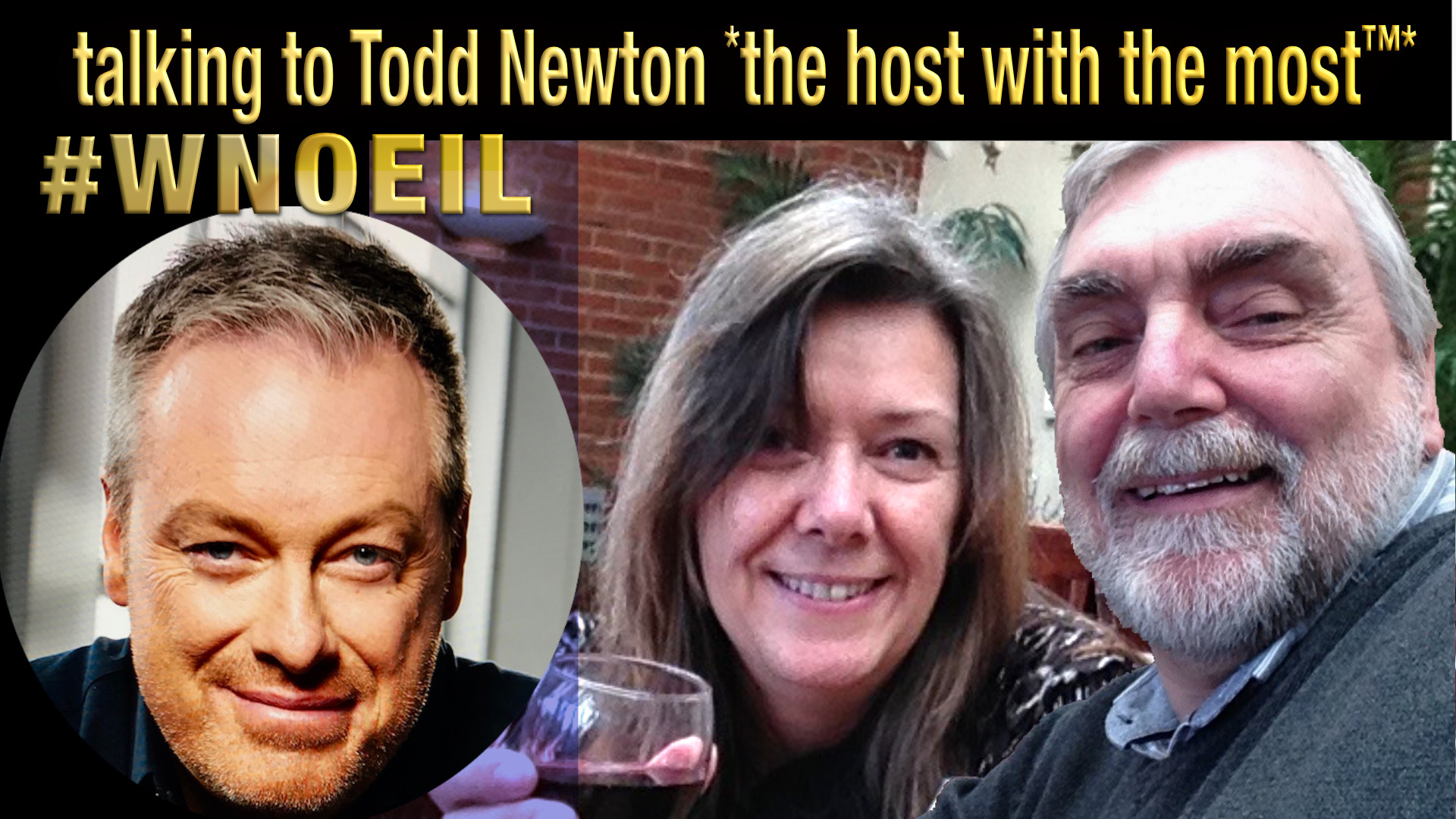 WNOEIL podcast talking success with Todd Newton the host with the most
