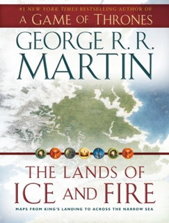Book cover: The Lands of Ice and Fire