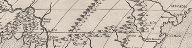 Forliani map excerpt