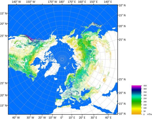 Northern biomass (ESA)