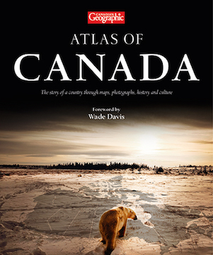 Book cover: Atlas of Canada