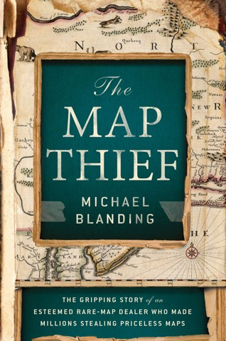 Book cover: The Map Thief