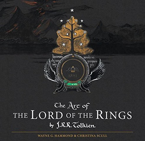 Book cover: The Art of The Lord of the Rings