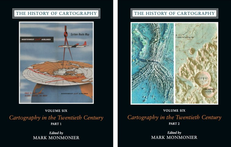 History of Cartography Volume 6 (book covers)