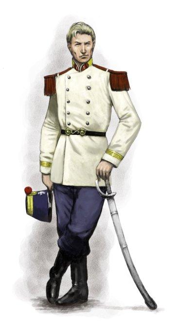 Captain Gerard Matrice, by John Wigley