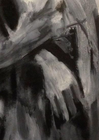 David (hand detail) 2 JONATHAN ELLIS oils 28 December 2014
