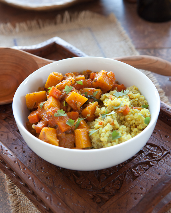Moroccan Winter Squash Stew
