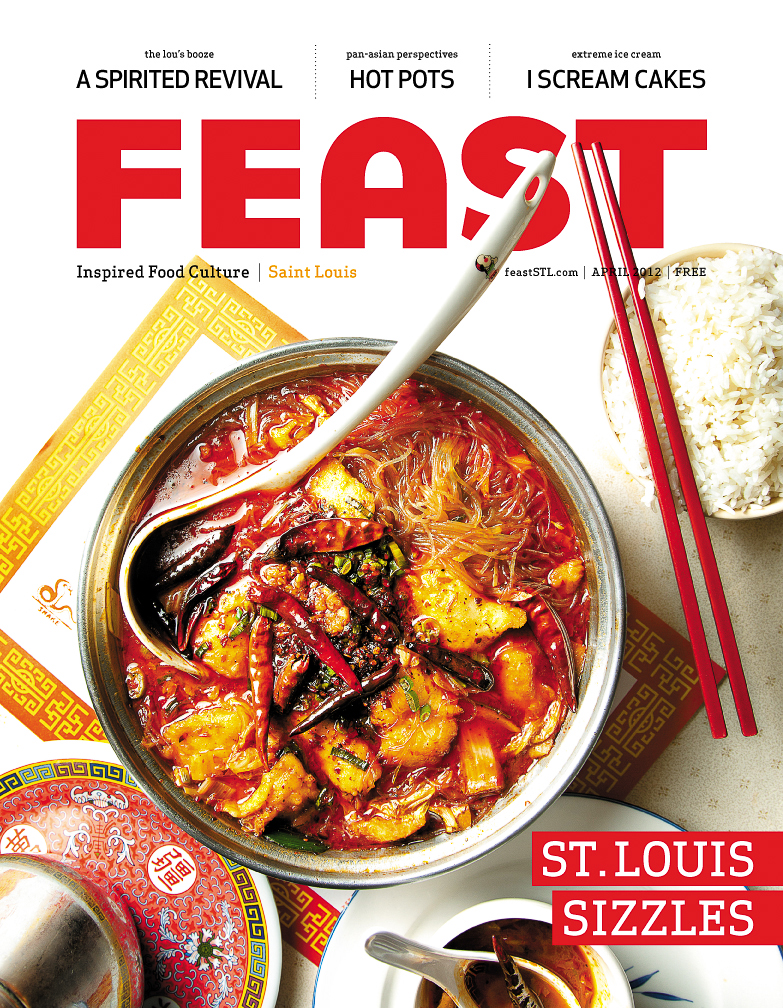 Feast Magazine: April 2012