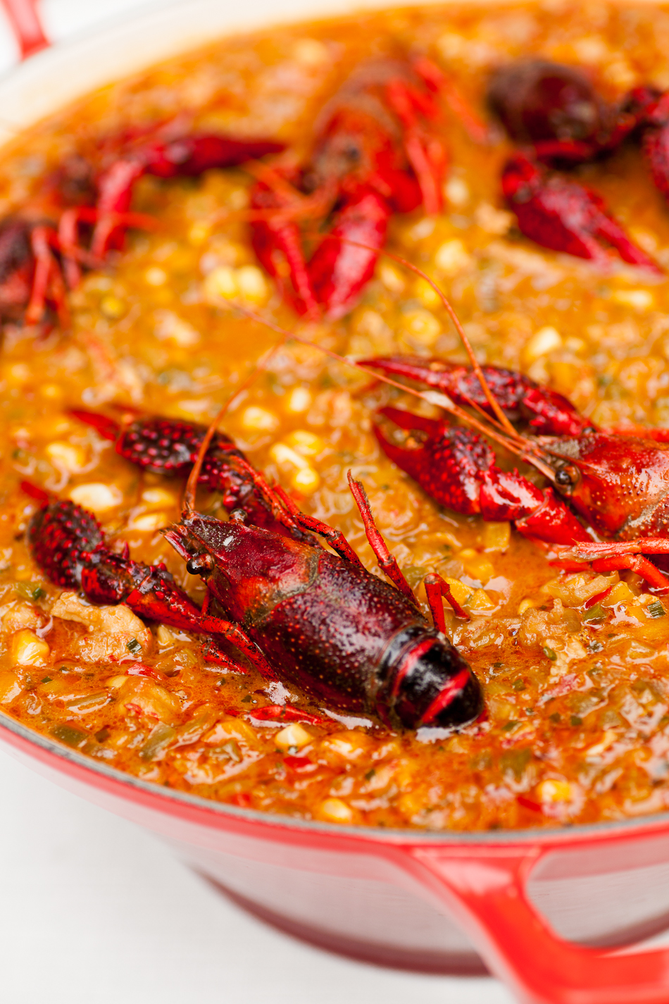 Crawfish Maque Choux