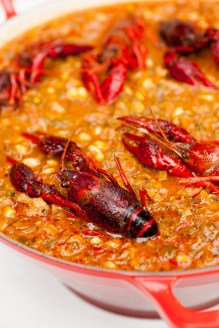 Crawfish Maque Choux
