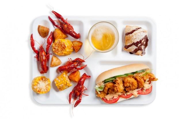 Big Easy Lunch Tray