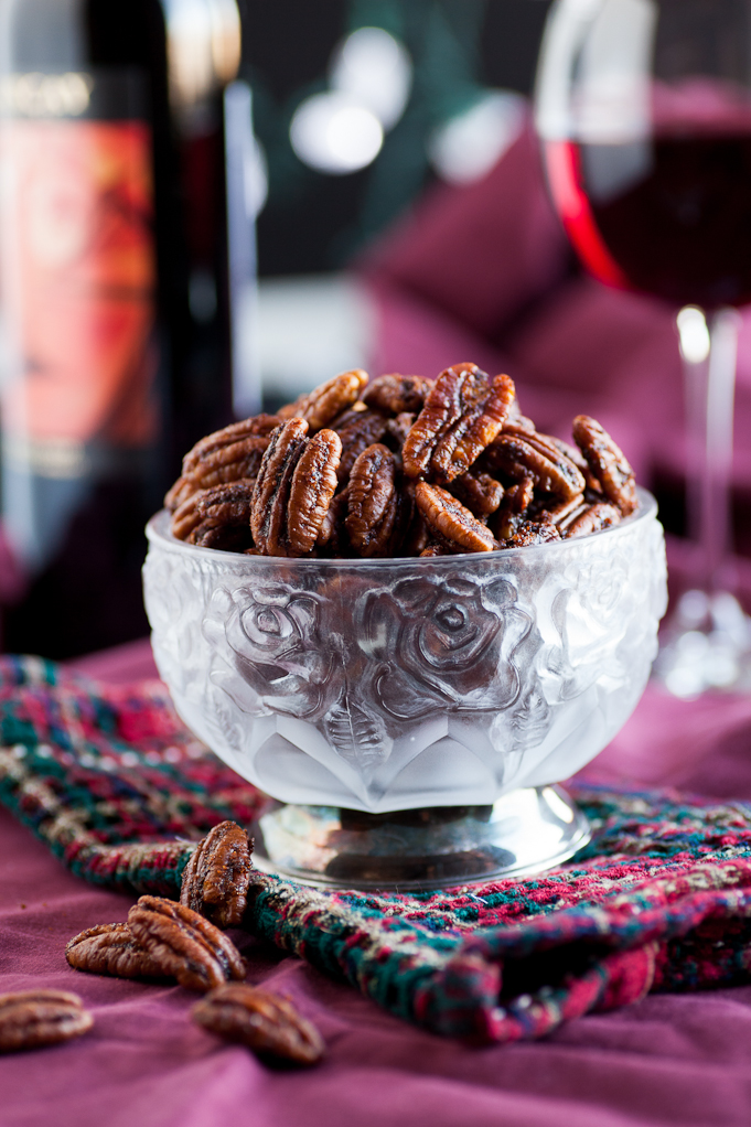 Food Gift Idea: Ancho Chili Pecans