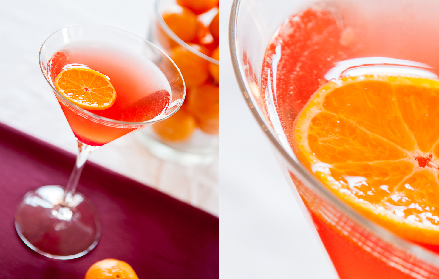 Clementine Holiday Cocktail