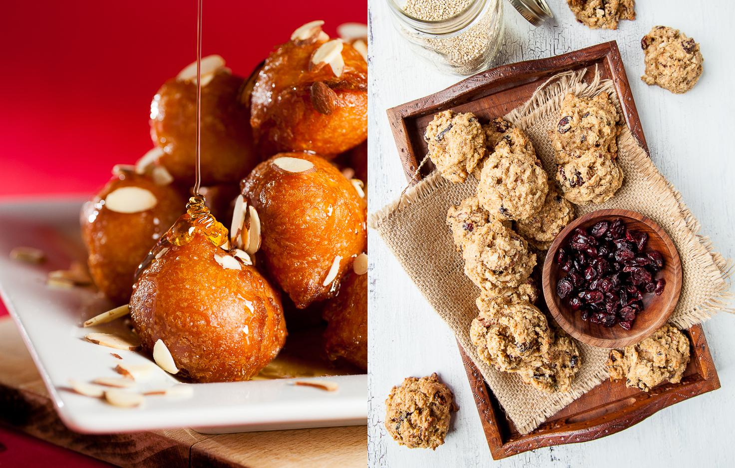 Sfinci | Cranberry Quinoa Cookies