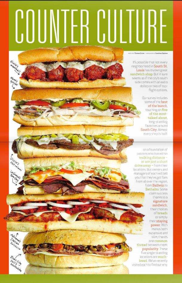 Sandwich-Centerfold