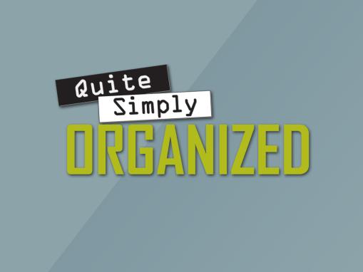 Quite Simply Organized