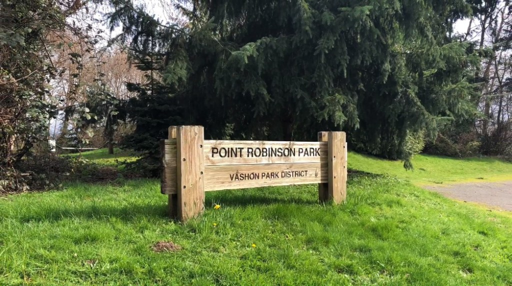 Point Robinson Park, hike, walk, puget sound, video editing, map, vashon island