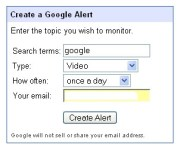 setting up Google alerts for your business