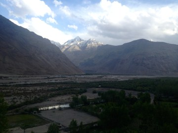 Langar is where the Pamir and Wakhan Rivers meet, forming the Pyanj River. It is the most beautiful village I have seen.