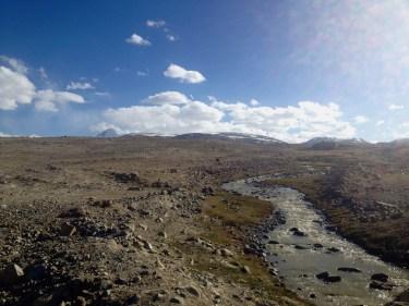 Just past the top of Koi-Tezek