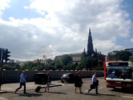 First View of Edinburgh