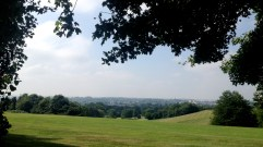 The view from Newbold Comyn