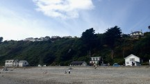 Seaside dwellings at Ramsay