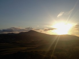Sunset from Maughold