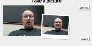 Your Browser can take a picture!