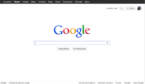 Google Kennedy Redesign of 2011